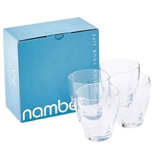 Nambe Vie Double Old Fashioned Glasses (Set of 4)